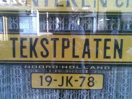 Kentekenplaten 2