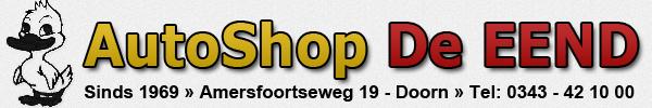 Autoshop De Eend voor automaterialen, dakkoffers, car hifi en AutoStyle dealer in Doorn