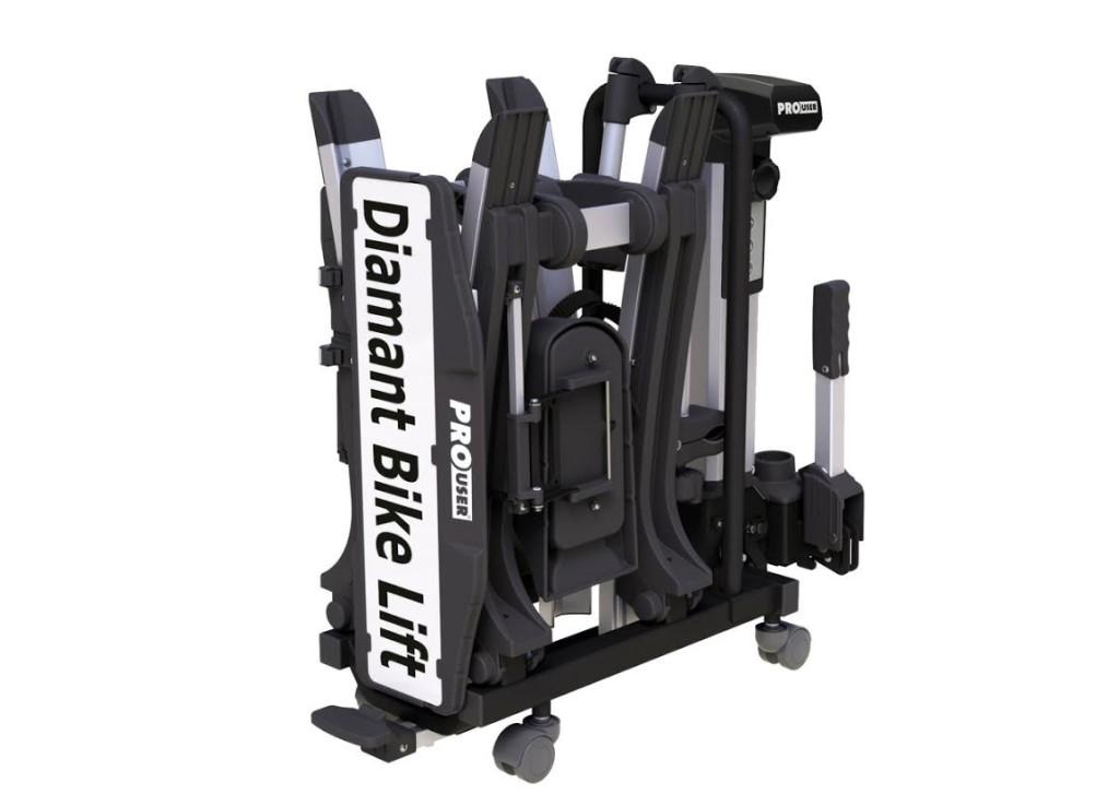 bike lift opgeklapt